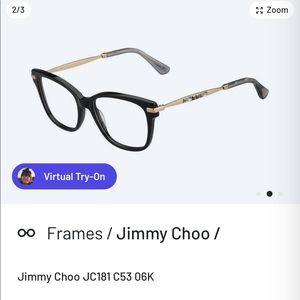 Jimmy Choo eye glass frames
